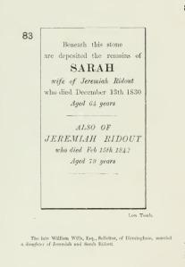 Sarah and Jeremiah