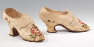 Shoes by Thomas Ridout now in the US Met. Museum