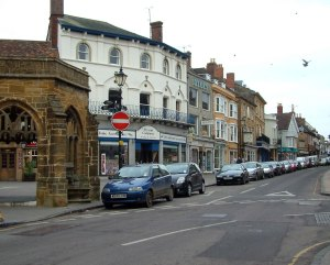 Modern Cheap St, in Sherborne