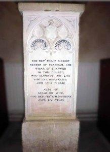 Philip & Sarah's memorial